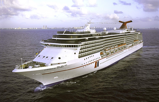 The 2,124-passenger Carnival Spirit sails around Australia and Oceania during America's winter months and Alaska during the summer.