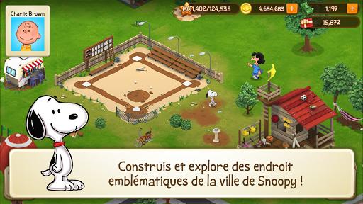 Télécharger Peanuts: Snoopy Ville | Simulateur de Construction APK MOD (Astuce) screenshots 1