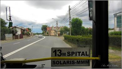 Photo: Turda - Str. Ştefan cel Mare , vedere din autobuz - 2019.07.14