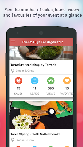 Events High For Organizers 1.45 screenshots 2