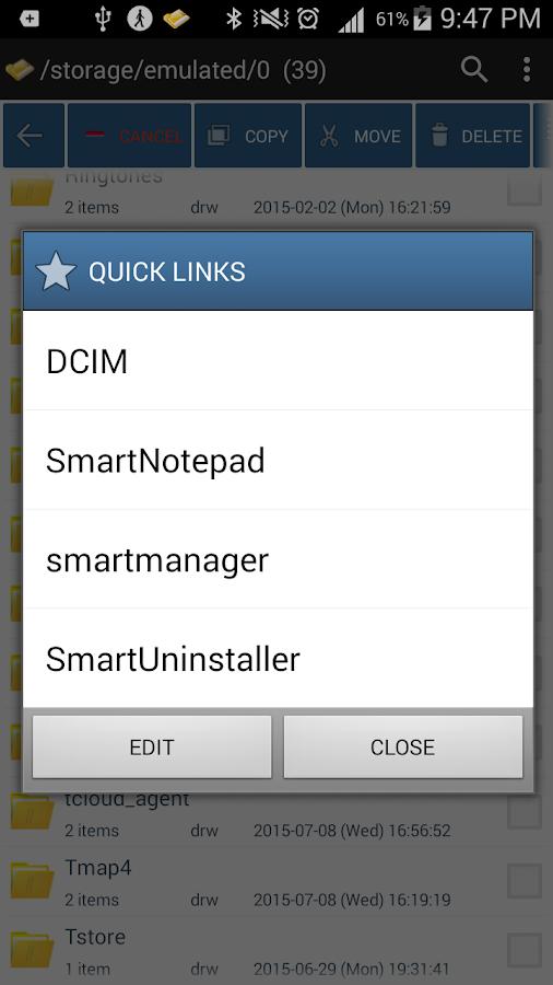 Smart File Manager- screenshot