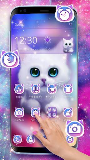 Cute Fluffy Kitten Theme screenshots 1