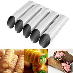 Set 12 forme cilindrice pentru prajituri