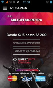 Virgin Mobile Perú: miniatura de captura de pantalla