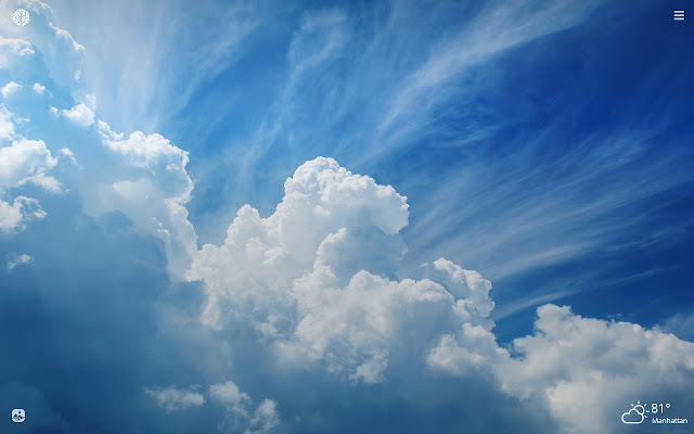Sky Clouds HD Wallpapers New Tab