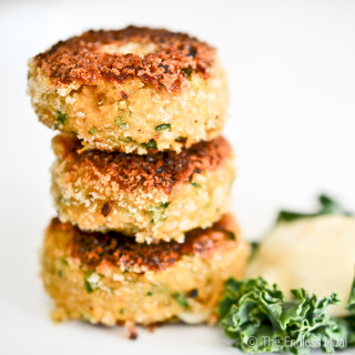 Chickpea and Pumpkin Fritters with Preserved Lemon Aioli