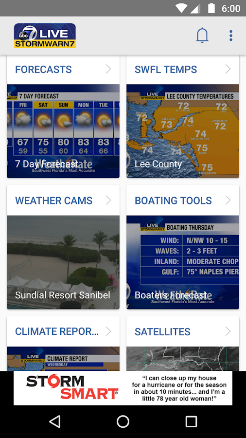 StormWarn7- screenshot