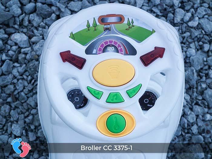 Xe ô tô chòi chân cho bé Broller CC-3375-1 có nhạc 8