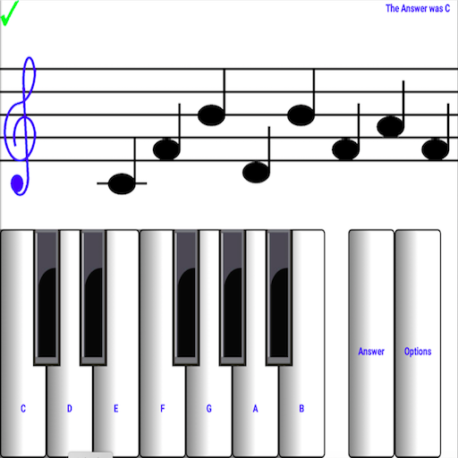 Learn sight read music notes ¼