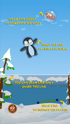 android Bouncy Penguin Screenshot 1