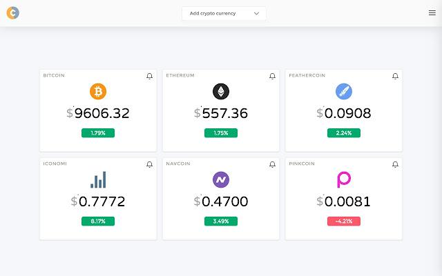 Crypto Price Tracker
