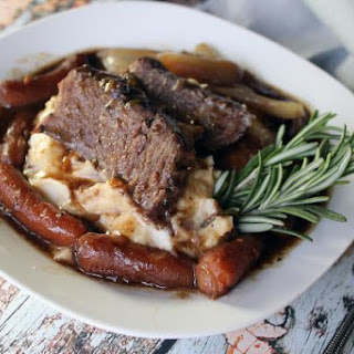 Best Ever Pot Roast with Boursin Mashed Potatoes