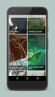 Earth Wallpapers - Satellite imagery from Google - náhled