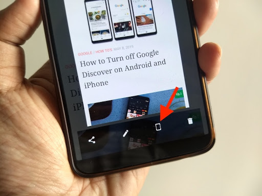 How to Take a Screenshot on OnePlus 7T