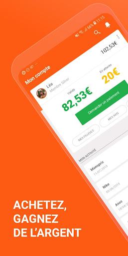 iGraal : Codes promo & Cashback  screenshots 1