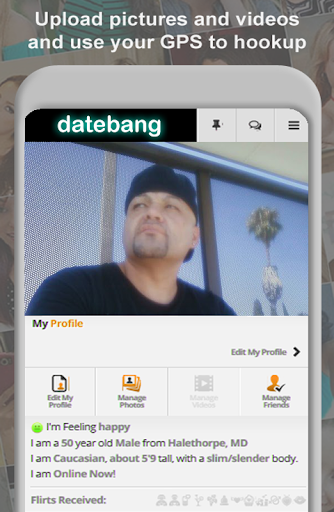 DateBang Free Hookup Dating 1.0 screenshots 2
