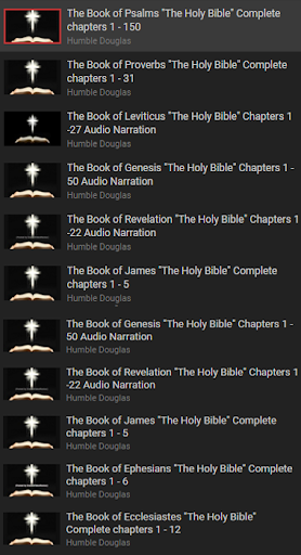 Free Holy Bible KJV With Audio