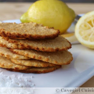 Lemon Coconut Cookies (paleo/grain-free)