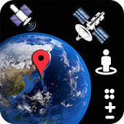 Street view live & earth map satellite