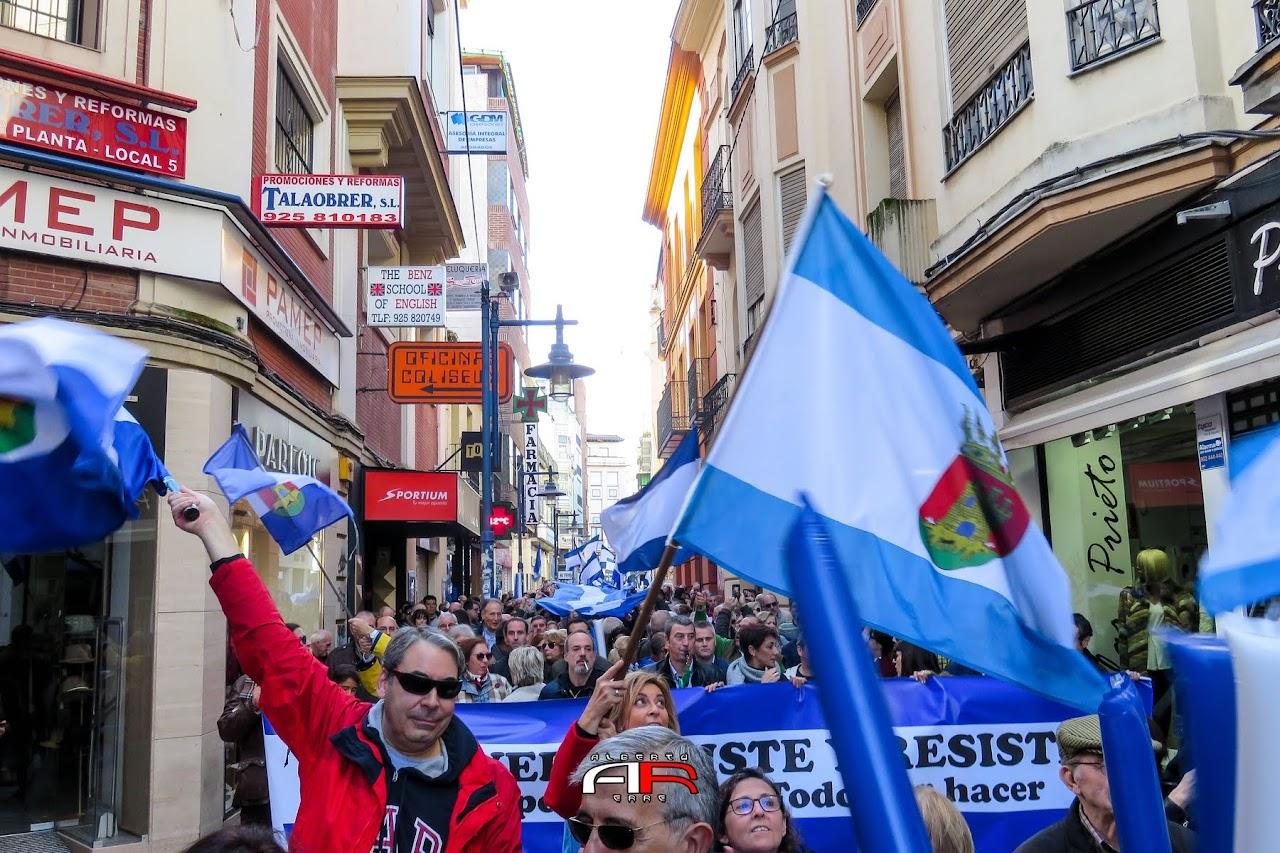Manifiestación 11N Talavera (2018)