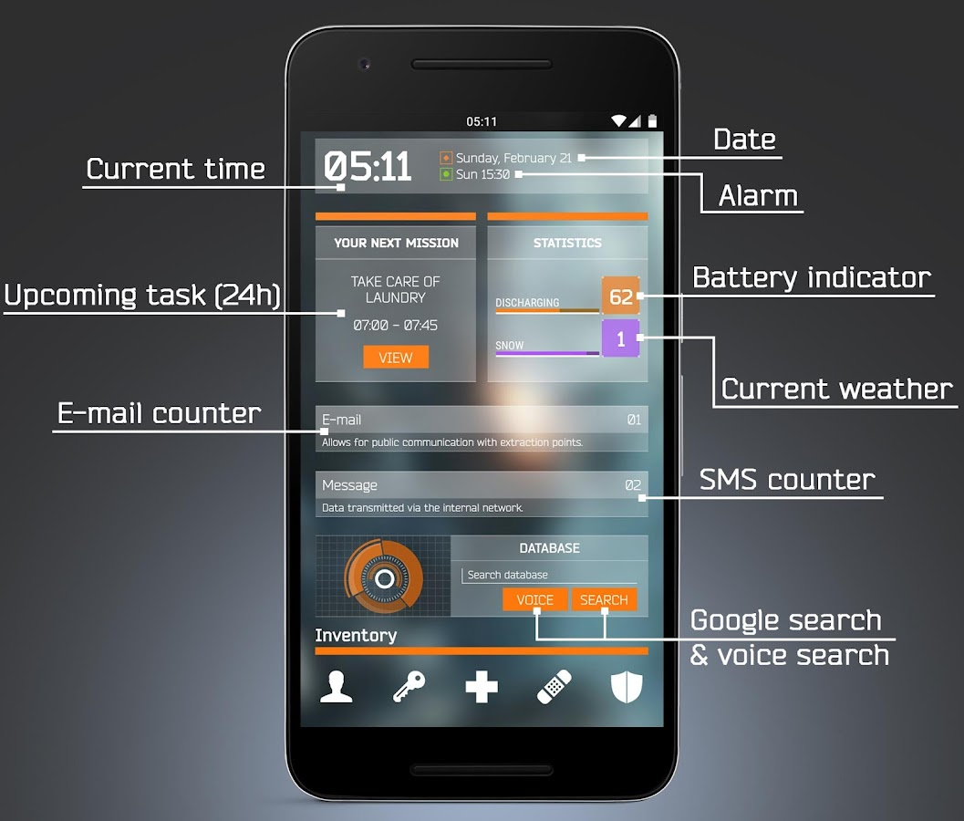 Google themes for android phones