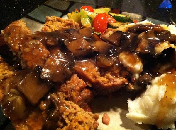 Best Meatloaf W/brown Mushroom Gravy Recipe