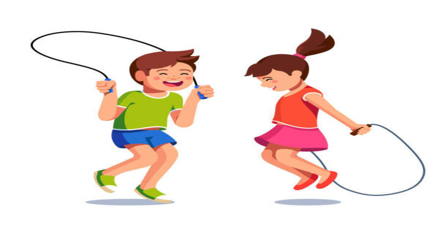 sports activities for family - skipping rope burns out calories