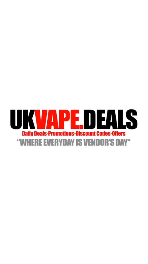 UK Vape Deals- screenshot