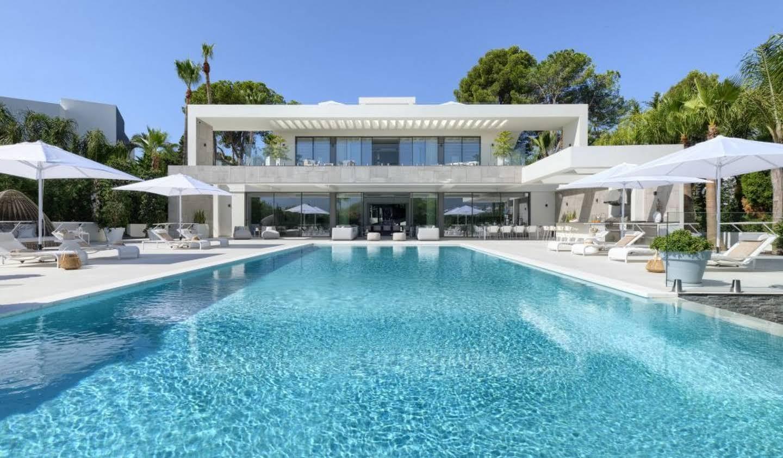 Propriété avec piscine et jardin Marbella