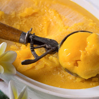 Gluten-Free Mango and Coconut Milk Ice-Cream