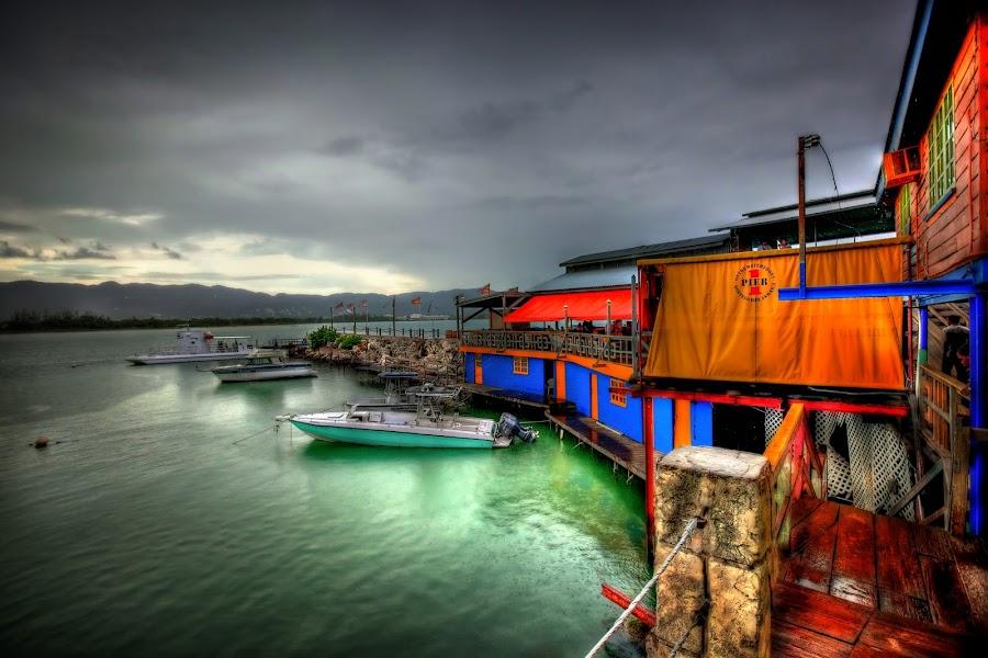 Montego Bay, Jamaica by Bob Adams - Landscapes Waterscapes ( bay, jamaica. montego )