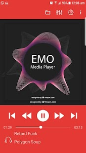 EMO Media Player Pro Screenshot