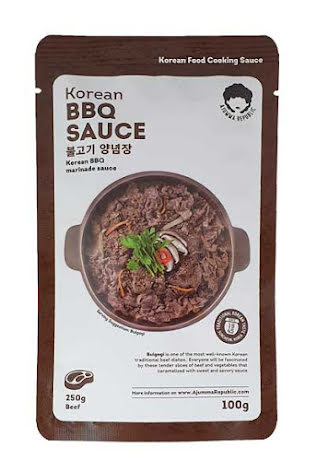 Korean BBQ Sauce 100 g Ajumma Republic