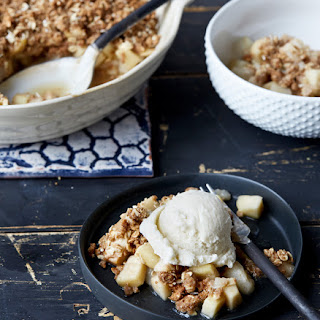 Holiday Gingerbread Pear Crumble From OATrageous Oatmeals