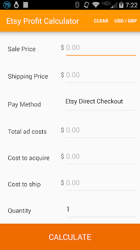 Profit Calculator for Etsy