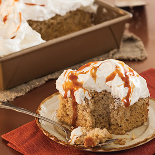 Pumpkin Spice Tres Leches Cake