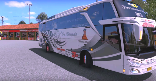 Bus Simulator Indonesia : Livery Bus apktreat screenshots 1