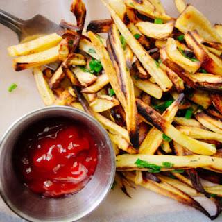 Herb Parsnip Fries.