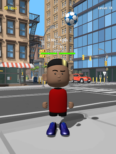The Real Juggle - Pro Freestyle Soccer 1.3.7 screenshots 8
