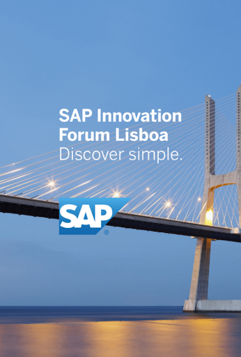 SAP Innovation Forum Lisboa 15