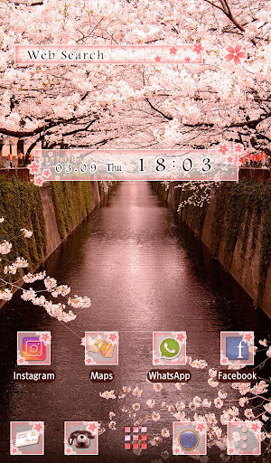Wallpaper Sakura Arch Theme 1.0.0 Windows u7528 5