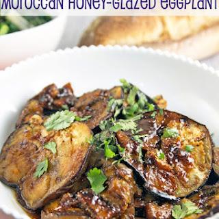 Moroccan Honey Glazed Eggplant.