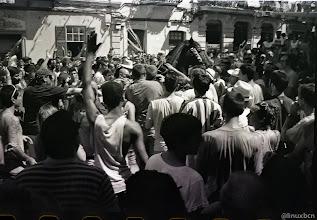 Photo: Al final tot va quedar en un ensurt i jenet i tatano varen seguir el jaleu
