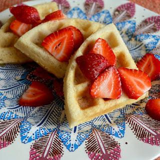 vegan AND gluten-free waffles.