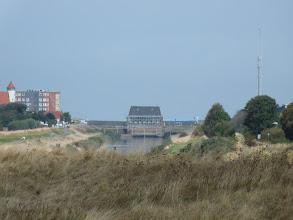 Photo: L'écluse de Cazdand (Pays-Bas) est là pour empêcher la mer d'envahir les polders