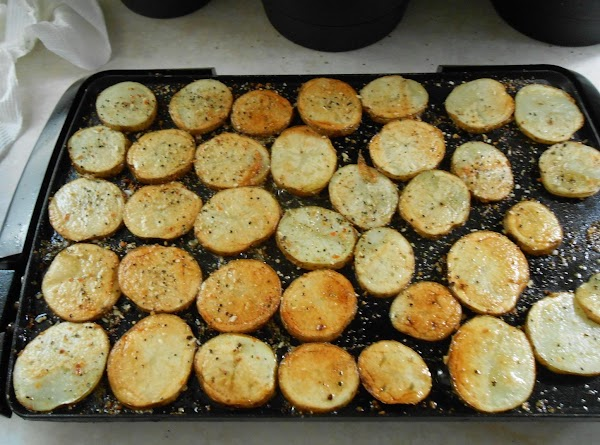 After about 30 min I flipped them and sprinkled more Mrs. Dash and some...