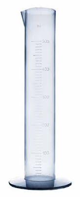 Mätcylinder plast 500 ml