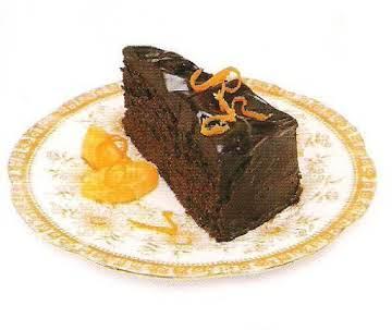 Choc-orange torte