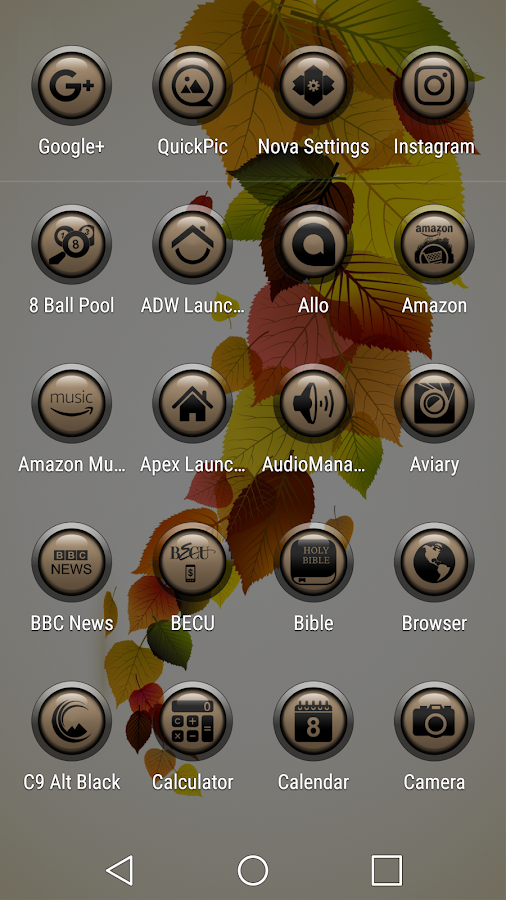 Sunkt Brown Icon Pack- screenshot