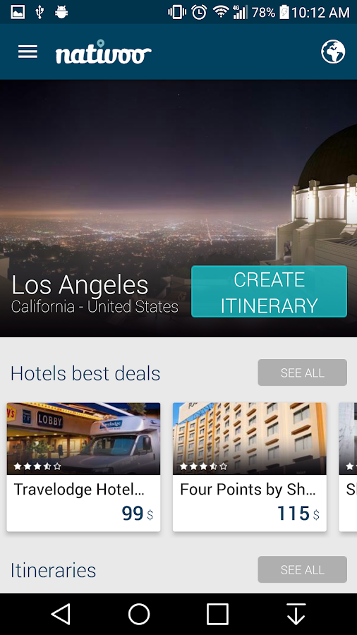 Los angeles travel guide ca android apps on google play for Los angeles vacation guide